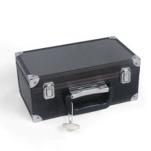 Aluminum Beauty Case Black Tool Case (HX-W3647)