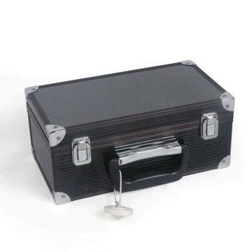 Boîtier à outils noir en aluminium Beauty Case (HX-W3647)