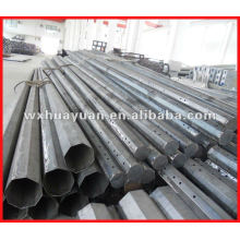 semi-finished octangle steel electrical poles