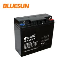 Ups batterie de stockage 12v 17ah pour système d'énergie solaire