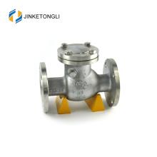 JKTLPC109 ajustement de la valve à clapet à bride à bride en acier inoxydable doux
