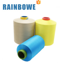 Hilo elástico cubierto al por mayor del spandex para tejer solo hilado cubierto de SCY 30150 / 48F