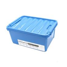 Boîte de rangement en plastique coloré créatif pour la maison (SLSN014)