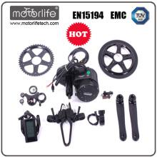 Forme un motor del eje de rueda lleno / un motor eléctrico del eje de la bici 250w / 36v que controla elegante
