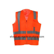 Reflective Safety Vest for Adults with En ISO20471