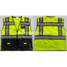 High visibility biocolor security vest special design