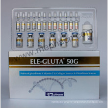 OEM Service Glutathione Injection From China 50g (6+12+1)