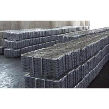 Цена по прейскуранту завода-изготовителя 99,99% рафинированного свинцового слитка