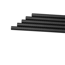 3K 600mm leichte und langlebige Vollcarbon-Rohre für Drone Parts