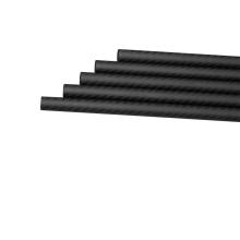 Sarja profissional de 16x12x1000mm 3K ou crescimentos lisos ou tubos da fibra do carbono