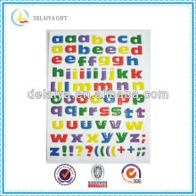 Fashion kids letter epoxy sticker