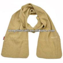 зимние карман флис шарф