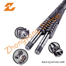 PVC Poam Board Twin Conical Screw and Barrel