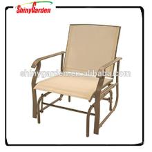 Patio al aire libre Solo asiento Swing Bench Glider Mecedora