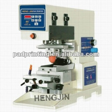 precision desktop single color pad printing machine in china