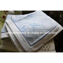 Woven Printing Cotton Blanket (NMQ-CB009)