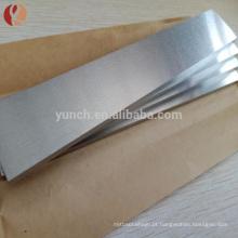 Alta pureza 99,95% Ro5200 1mm Ta1 folha de tântalo melhor preço