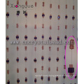 Cubic Crystal Glass Bead Crafts Curtain