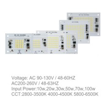 220V High PF AC Driverless Square LED Module 50W (10W/20W/30W/50W/70W/100W)