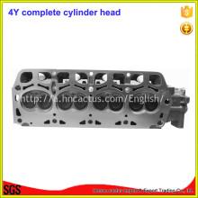 Peças de Motor Completas 11101-73020 4y Cabeça de Cilindro para Toyota 491q