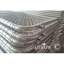 Galvanized Steel Chain Link Farm Fence Gates