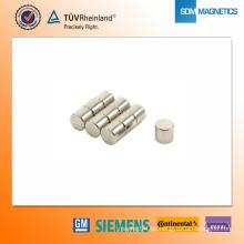 D8 * 7,25 mm N42 Neodym-Magnet