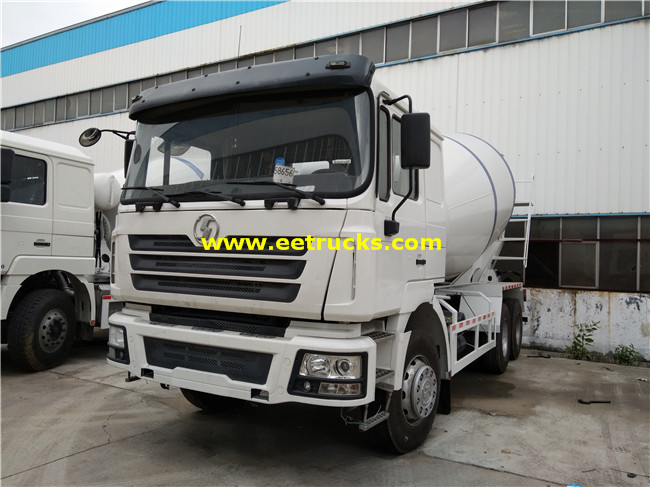 SHACMAN 6000L Cement Truck Mixers
