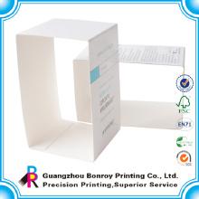China professionelle handgemachte recycelte faltbare Papierhülle Verpackung