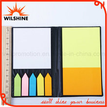 PU Notepad with Sticky Post Tips for Promotion (PN239)