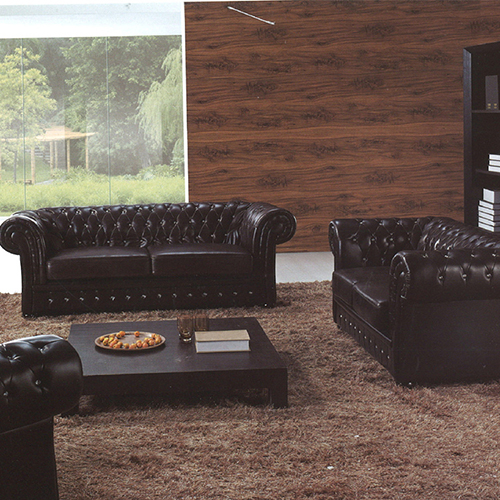 Upholstered Sofa Set