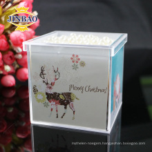Crystal Acrylic Candy gift Box with lid