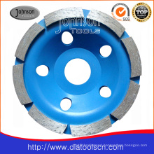 105mm Diamond Single Row Cup Wheel for Stone or Concrete