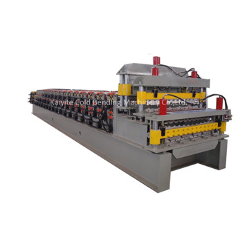 Automatic+Double+Decker+Roofing+Panel+Roll+Forming+Machine