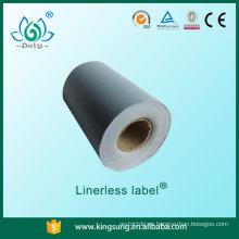 Precio de fábrica de Shanghai Pely etiqueta de linerless del precio del estante de la buena calidad