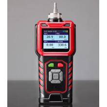 Analizador de gases portátil con monitor de CO2