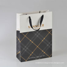 Recyclable Feature Handle packing shopping Paper Bags
