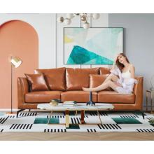 Офисный диван из искусственной кожи