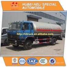 DONGFENG 4x2 LPG Transport LKW 15CBM 190HP cummins Motor heißer Verkauf preiswerter Preis