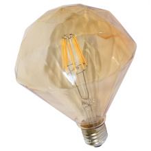 Direkter Verkauf der Fabrik Flacher Diamant LED Glühfaden-Birne mit Goldabdeckung