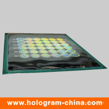 3D Laser Anti-Fake Sicherheit Hologramm Master