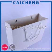 Hot selling logo printing recycle kraft paper bags for packaging