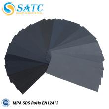 36 pièces 9 * 3.6 pouces papier de sable humide ou sec avec grain de 400 à 3000