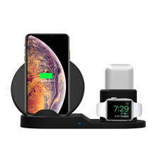 10W Fast Wireless Charger Stand with QI Phones