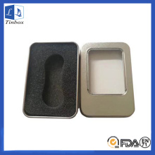 Tri Spinner Metal Packaging