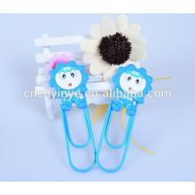 Popular soft pvc creative handmade bookmark designs for kids