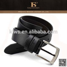Low Price Metal Buckle Black Men Pu Belt