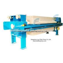 Prensa de filtro de lodo de filtro Leo para producción de arena y piedra