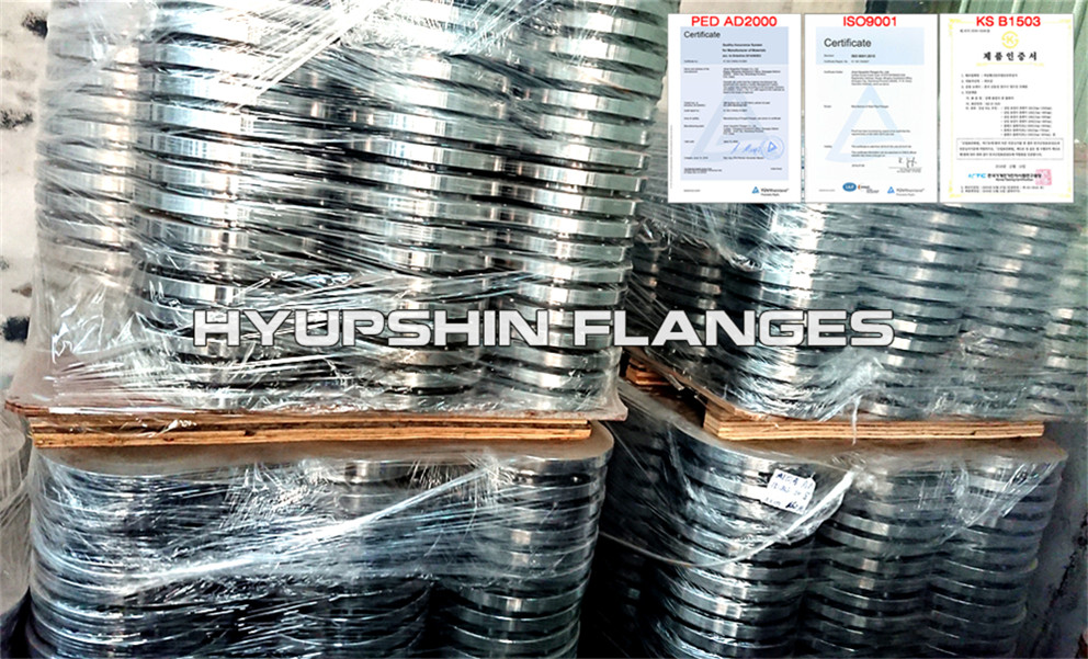 Hyupshin Flanges Slip On Sorf A105 150lbs