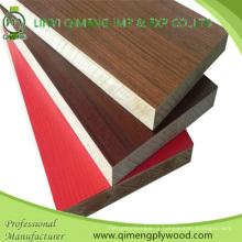 Plaquette en carton antiadhésive à 16 mm en papier mélaminé pour meubles