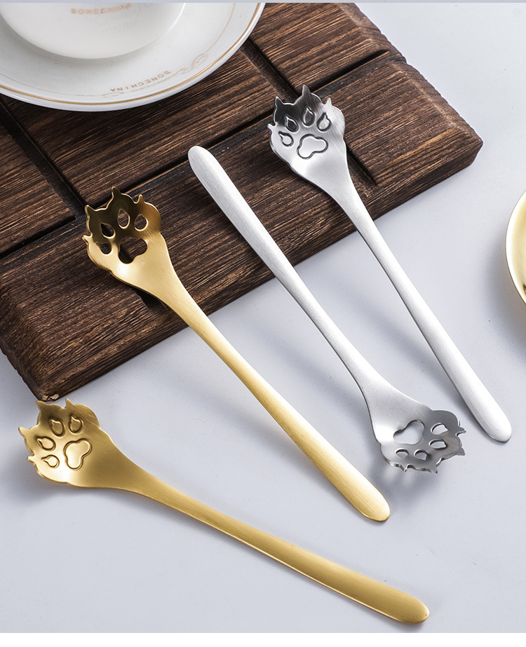 Stainless steel Dog Paws Spoon